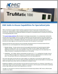 KMC Trumatic PDF download